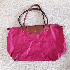 Pink Longchamp Bag